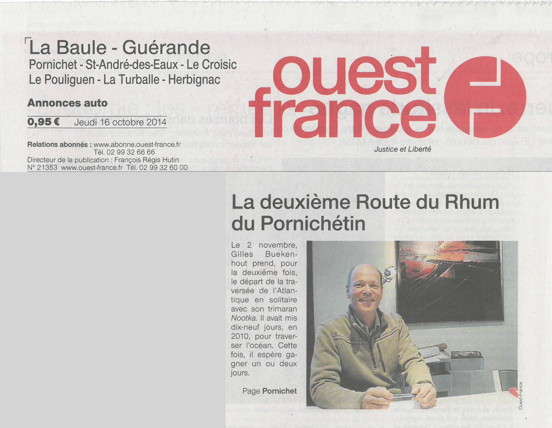 Presse - Ouest france le journal gratuit ...